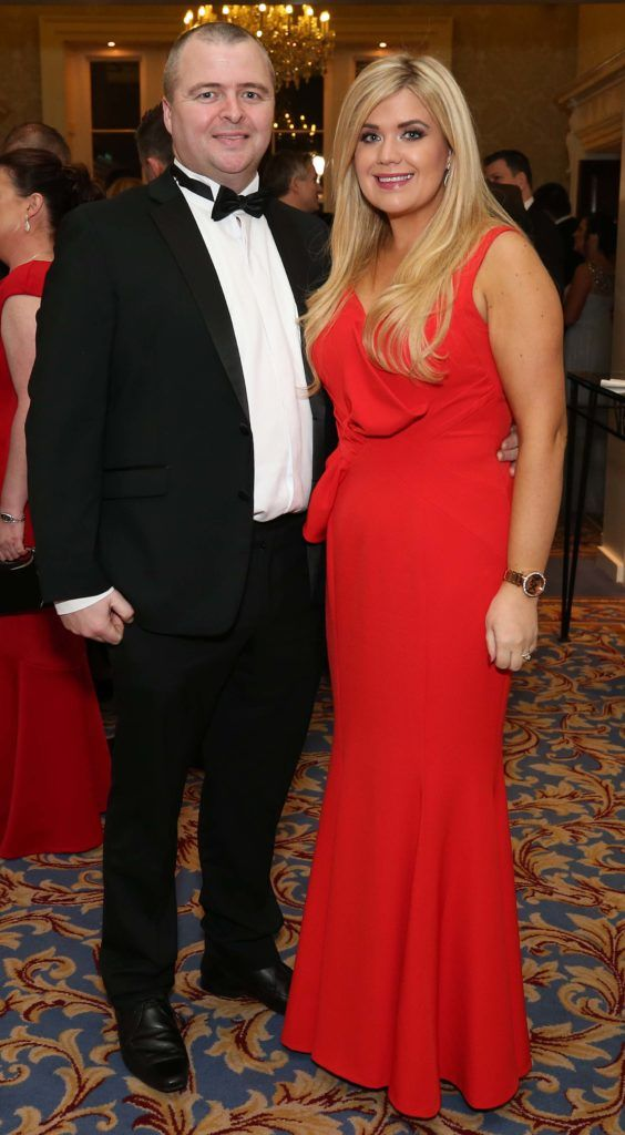 Brendan and Lydia Finn, pictured at the Nesta sponsored ISPCC Valentines Ball held in the Shelbourne Hotel. Pic. Robbie Reynolds