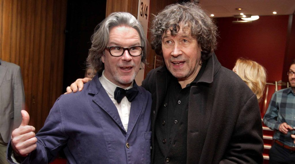 Abbey Theatre Director Graham McLaren and Stephen Rea pictured at the opening night of Arlington, written and directed by Enda Walsh and choreographed by Emma Martin, at the Abbey Theatre. Photo: Mark Stedman