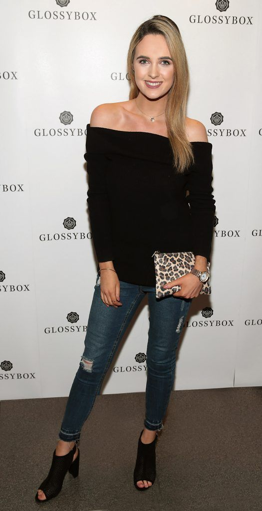 Lorna Duffy pictured at the Glossybox Girls Night Out screening at Movie's at Dundrum to celebrate their February LOVE Box. Picture: Brian McEvoy