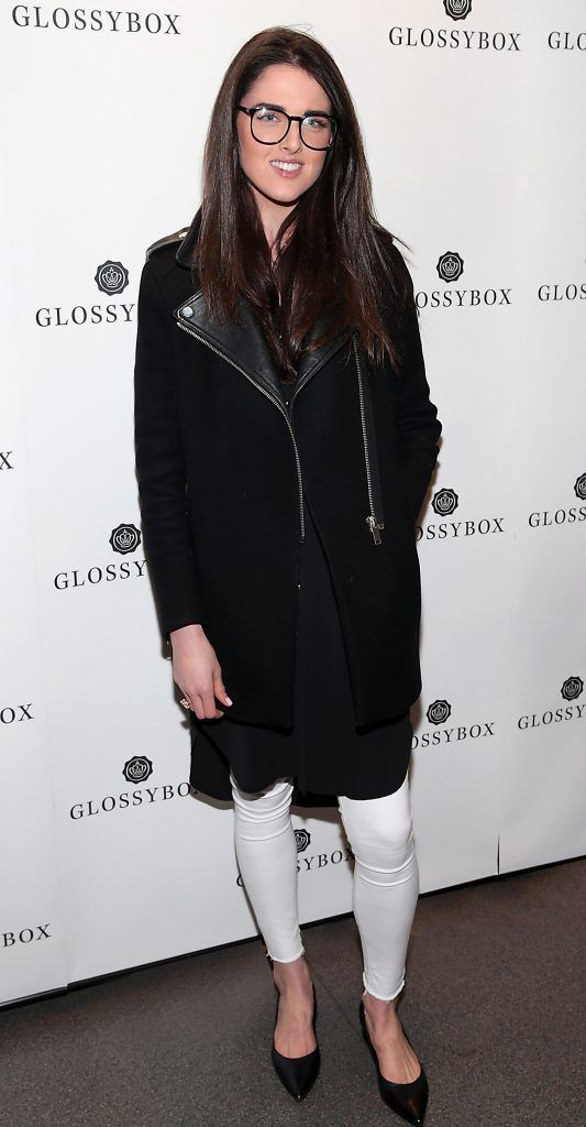 Rebecca O Byrne  pictured at the Glossybox Girls Night Out screening at Movie's at Dundrum to celebrate their February LOVE Box. Picture: Brian McEvoy