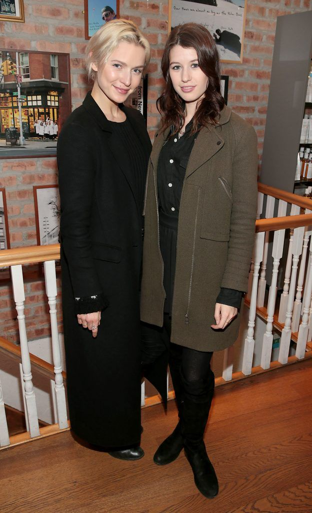 Teodora Sutra and Joanne Northey at the launch of Kiehl's Pure Vitality Skin Renewing Cream at the flagship Kiehl's Store, in Wicklow Street ,Dublin. Picture Brian McEvoy