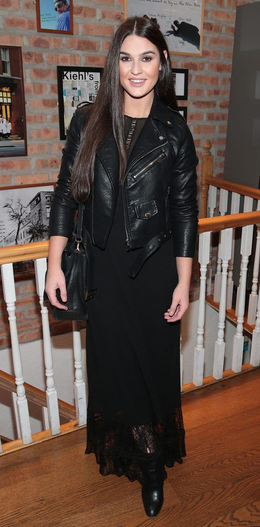 Lynne Kelly at the launch of Kiehl's Pure Vitality Skin Renewing Cream at the flagship Kiehl's Store, in Wicklow Street ,Dublin. Picture Brian McEvoy