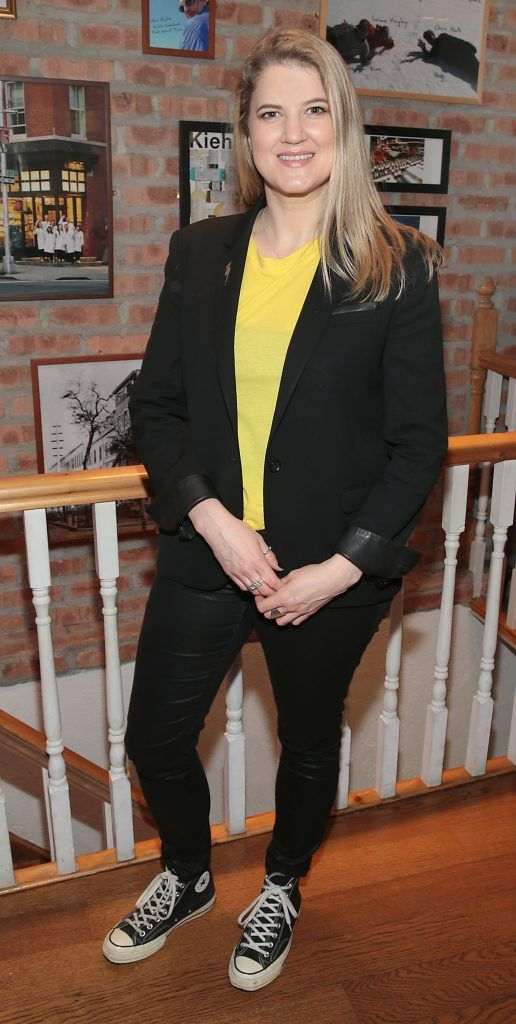 Jenny Huston at the launch of Kiehl's Pure Vitality Skin Renewing Cream at the flagship Kiehl's Store, in Wicklow Street ,Dublin. Picture Brian McEvoy