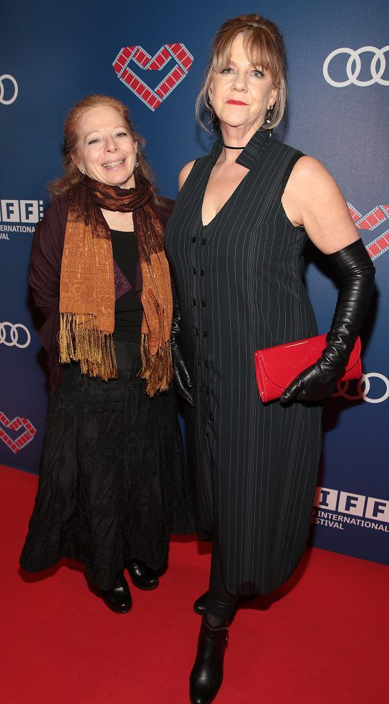 Mary Young Leckie and Heather Haldane at the Audi Dublin International Film Festival 2017 Opening Night Gala and Irish premiere screening of internationally acclaimed new film Maudie. More details about ADIFF are available at diff.ie. Pictures: Brian McEvoy