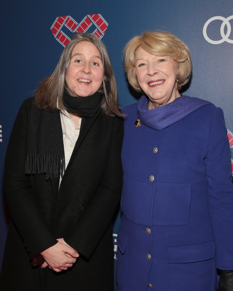 Niamh Burke Kennedy and Sabina Higgins at the Audi Dublin International Film Festival 2017 Opening Night Gala and Irish premiere screening of internationally acclaimed new film Maudie. More details about ADIFF are available at diff.ie. Pictures: Brian McEvoy