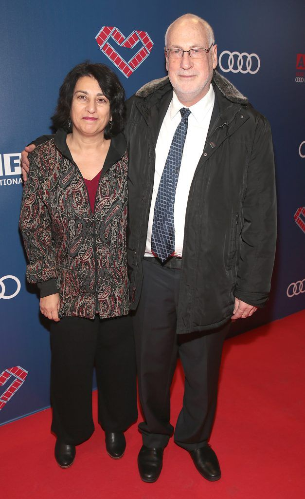 Israel Ambassador to Ireland Zeev Boker and Tali Boker at the Audi Dublin International Film Festival 2017 Opening Night Gala and Irish premiere screening of internationally acclaimed new film Maudie. More details about ADIFF are available at diff.ie. Pictures: Brian McEvoy