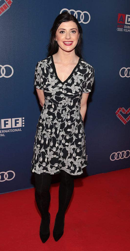 Emma Eliza Regan at the Audi Dublin International Film Festival 2017 Opening Night Gala and Irish premiere screening of internationally acclaimed new film Maudie. More details about ADIFF are available at diff.ie. Pictures: Brian McEvoy