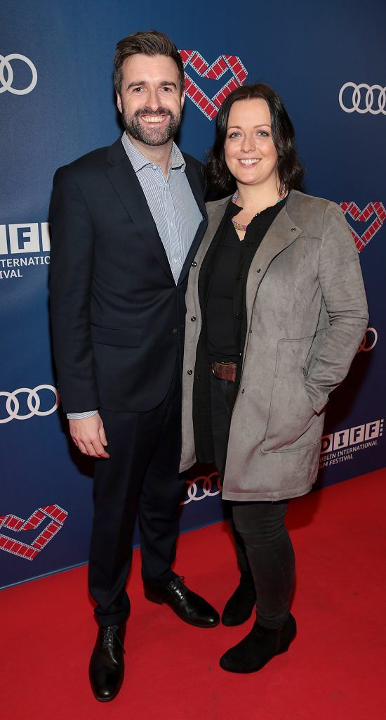 Richard Molloy and Carol Molloy at the Audi Dublin International Film Festival 2017 Opening Night Gala and Irish premiere screening of internationally acclaimed new film Maudie. More details about ADIFF are available at diff.ie. Pictures: Brian McEvoy