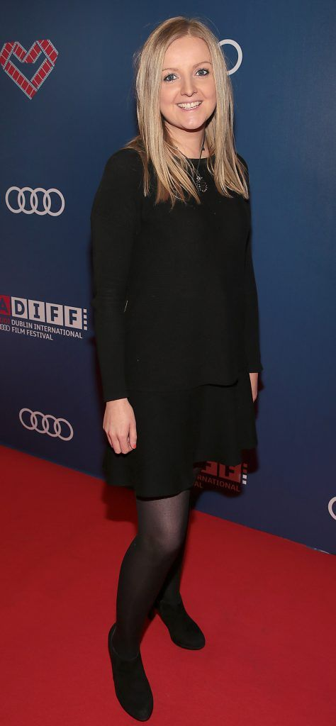 Ali Keegan at the Audi Dublin International Film Festival 2017 Opening Night Gala and Irish premiere screening of internationally acclaimed new film Maudie. More details about ADIFF are available at diff.ie. Pictures: Brian McEvoy