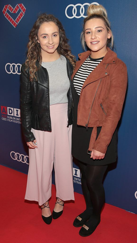 Alanna Finnerty and Orlaith Finn at the Audi Dublin International Film Festival 2017 Opening Night Gala and Irish premiere screening of internationally acclaimed new film Maudie. More details about ADIFF are available at diff.ie. Pictures: Brian McEvoy