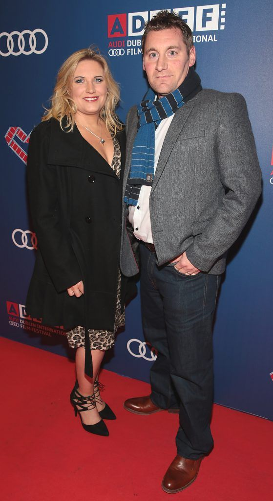 Fiona Wright and Mark Wright at the Audi Dublin International Film Festival 2017 Opening Night Gala and Irish premiere screening of internationally acclaimed new film Maudie. More details about ADIFF are available at diff.ie. Pictures: Brian McEvoy