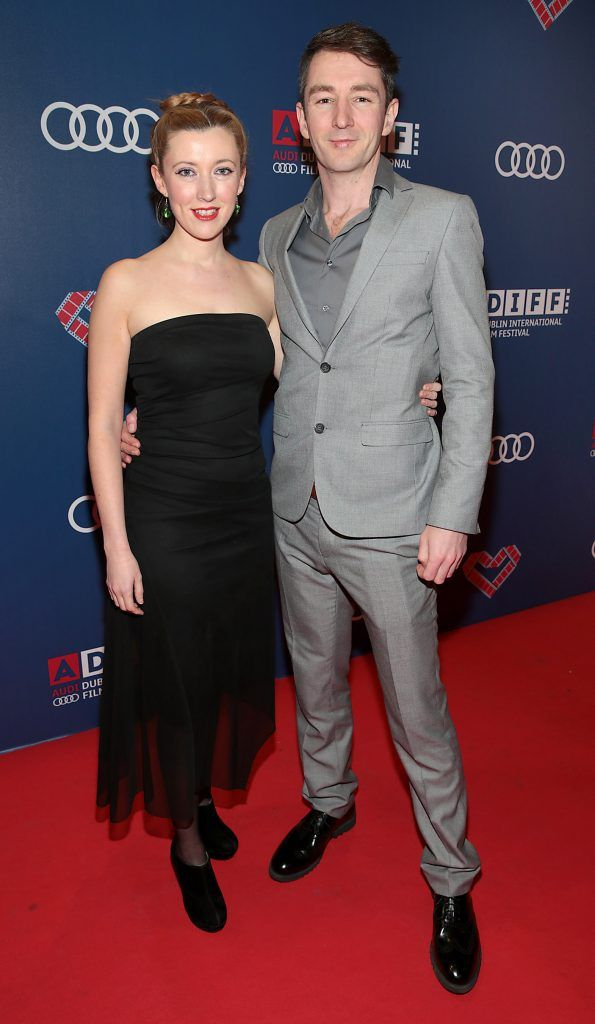 Amy Joyce Hastings and Graham Cantwell at the Audi Dublin International Film Festival 2017 Opening Night Gala and Irish premiere screening of internationally acclaimed new film Maudie. More details about ADIFF are available at diff.ie. Pictures: Brian McEvoy