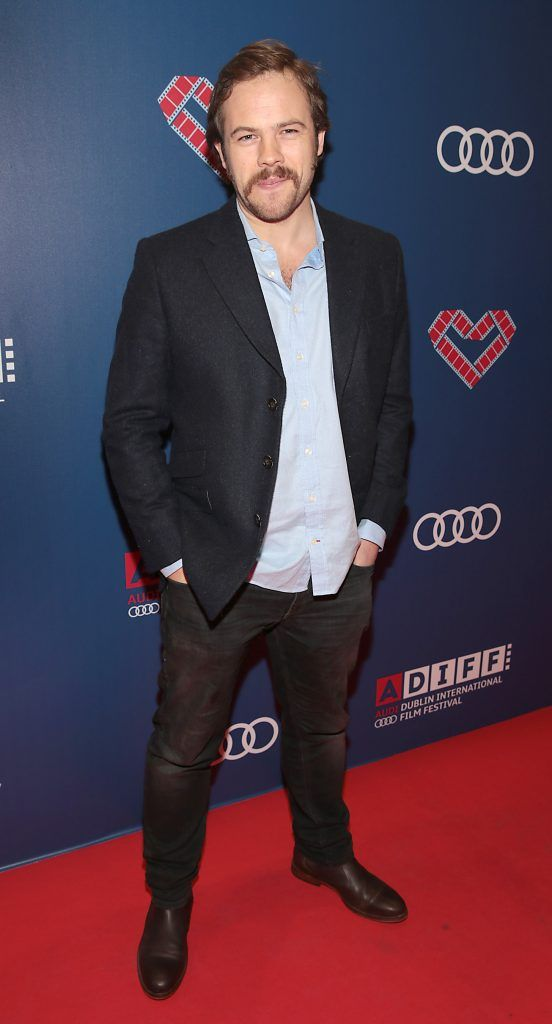 Actor Moe Dunford at the Audi Dublin International Film Festival 2017 Opening Night Gala and Irish premiere screening of internationally acclaimed new film Maudie. More details about ADIFF are available at diff.ie. Pictures: Brian McEvoy