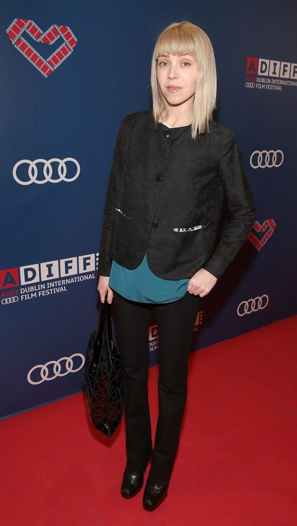 Antonia Campbell-Hughes at the Audi Dublin International Film Festival 2017 Opening Night Gala and Irish premiere screening of internationally acclaimed new film Maudie. More details about ADIFF are available at diff.ie. Pictures: Brian McEvoy