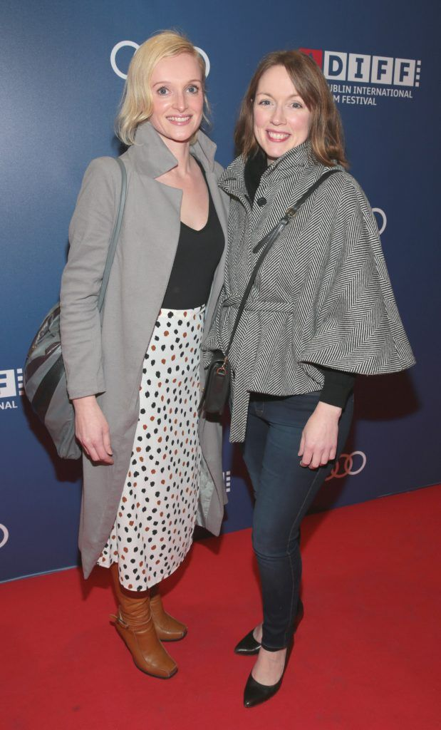 Fiona Garvan and Gud Ni Neill at the Audi Dublin International Film Festival 2017 Opening Night Gala and Irish premiere screening of internationally acclaimed new film Maudie. More details about ADIFF are available at diff.ie. Pictures: Brian McEvoy