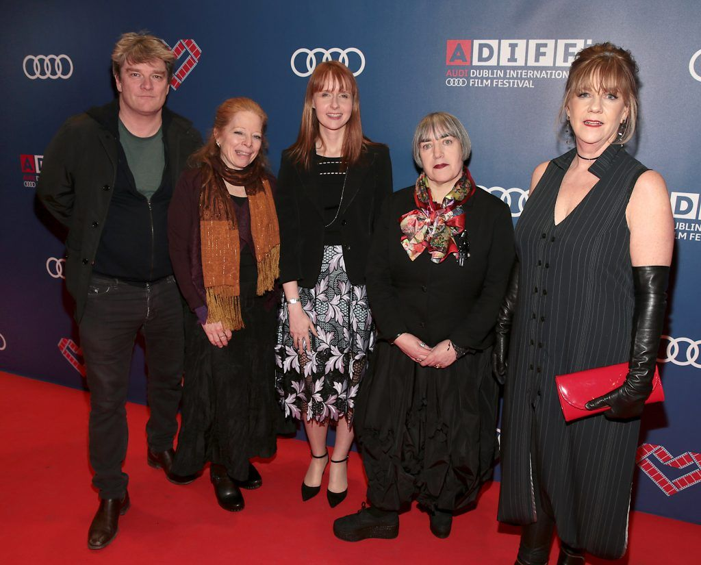 Alan Moloney, Mary Young Leckie, Susan Mullen, Aisling Walsh and Heather Haldane  at the Audi Dublin International Film Festival 2017 Opening Night Gala and Irish premiere screening of internationally acclaimed new film Maudie. More details about ADIFF are available at diff.ie. Pictures: Brian McEvoy