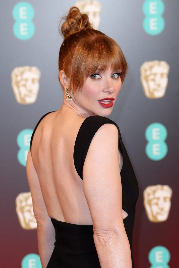 Bryce Dallas Howard attends the 70th EE British Academy Film Awards (BAFTA) at Royal Albert Hall on February 12, 2017 in London, England.  (Photo by Chris Jackson/Getty Images)