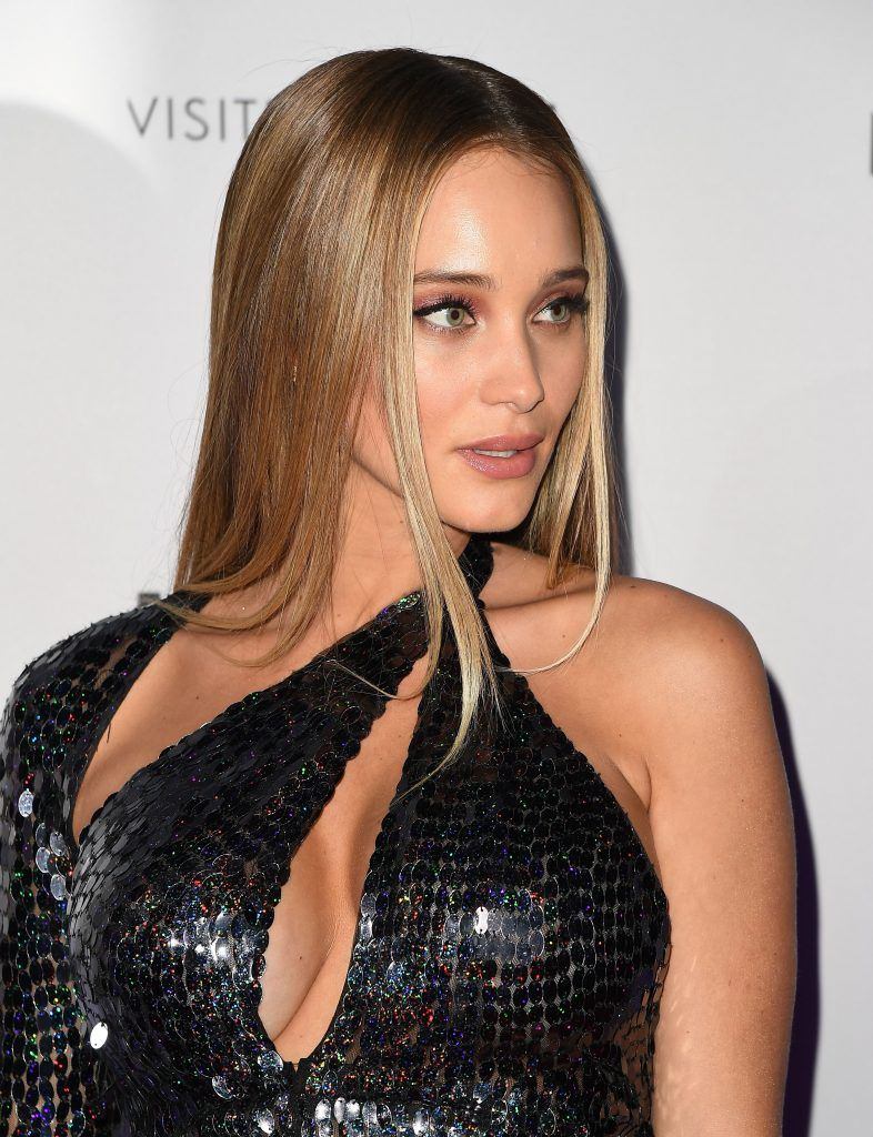 Model Hannah Jeter attends the Sports Illustrated Swimsuit 2017 launch event at Center415 Event Space on February 16, 2017 in New York City.      (Photo ANGELA WEISS/AFP/Getty Images)