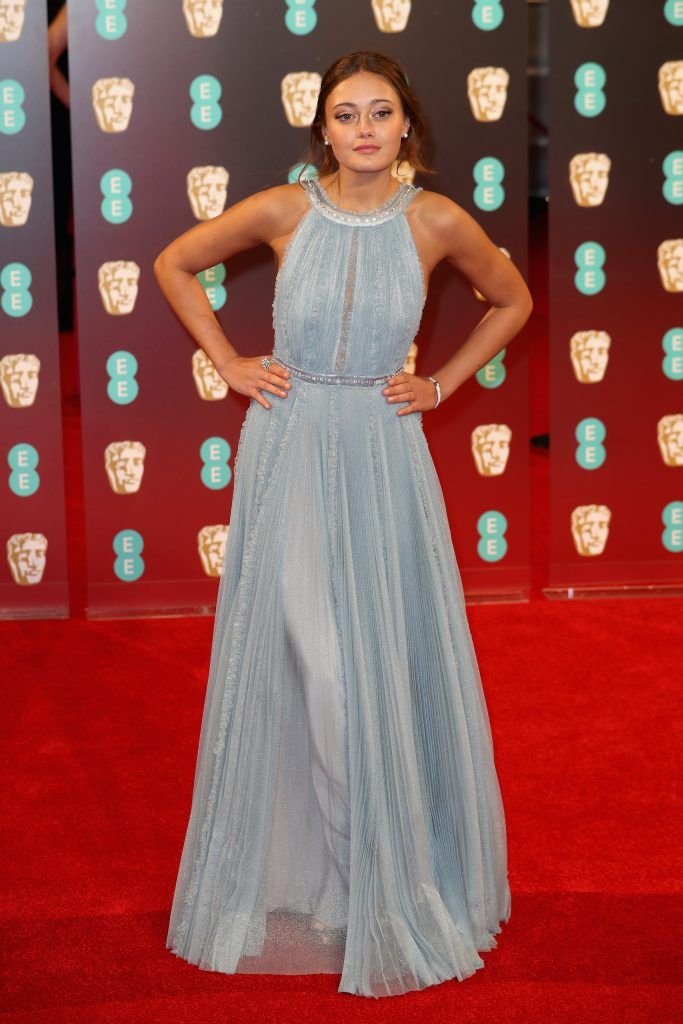 Ella Purnell attends the 70th EE British Academy Film Awards (BAFTA) at Royal Albert Hall on February 12, 2017 in London, England.  (Photo by Chris Jackson/Getty Images)