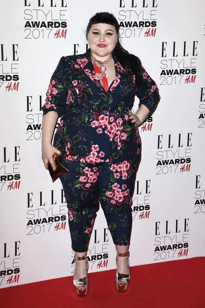Beth Ditto attends the Elle Style Awards 2017 on February 13, 2017 in London, England.  (Photo by Gareth Cattermole/Getty Images)