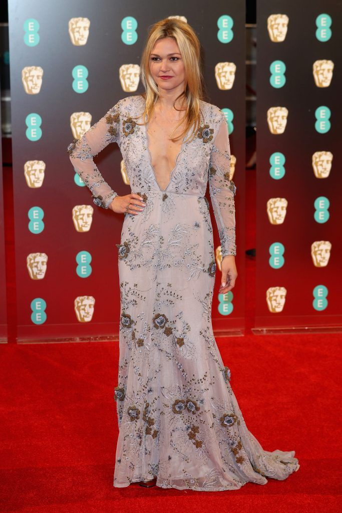 Julia Stiles attends the 70th EE British Academy Film Awards (BAFTA) at Royal Albert Hall on February 12, 2017 in London, England.  (Photo by Chris Jackson/Getty Images)