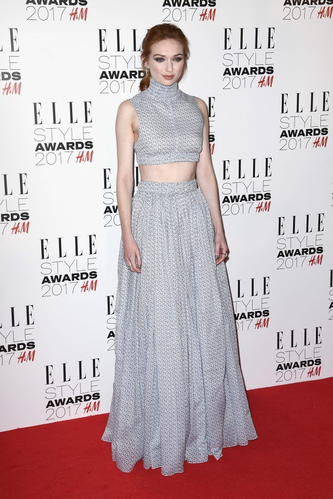 Eleanor Tomlinson attends the Elle Style Awards 2017 on February 13, 2017 in London, England.  (Photo by Gareth Cattermole/Getty Images)