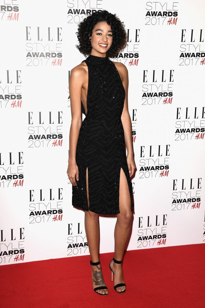Damaris Goddrie attends the Elle Style Awards 2017 on February 13, 2017 in London, England.  (Photo by Gareth Cattermole/Getty Images)