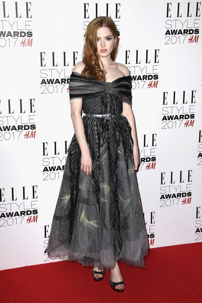 Ellie Bamber attends the Elle Style Awards 2017 on February 13, 2017 in London, England.  (Photo by Gareth Cattermole/Getty Images)