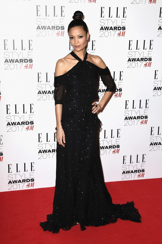 Thandie Newton attends the Elle Style Awards 2017 on February 13, 2017 in London, England.  (Photo by Gareth Cattermole/Getty Images)