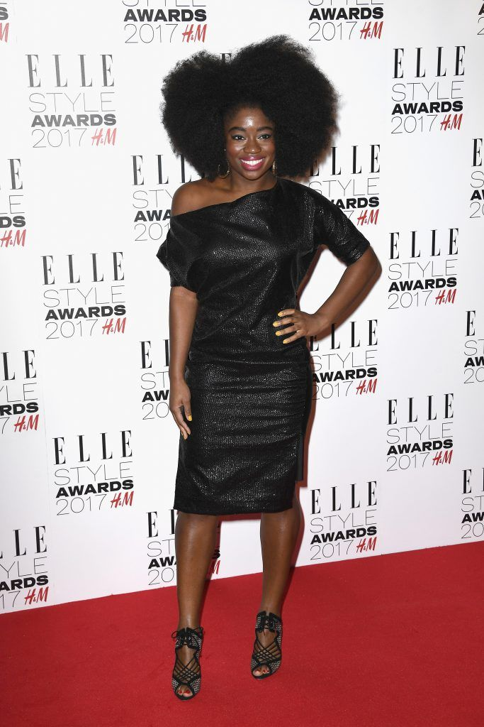 Clara Amfo attends the Elle Style Awards 2017 on February 13, 2017 in London, England.  (Photo by Gareth Cattermole/Getty Images)