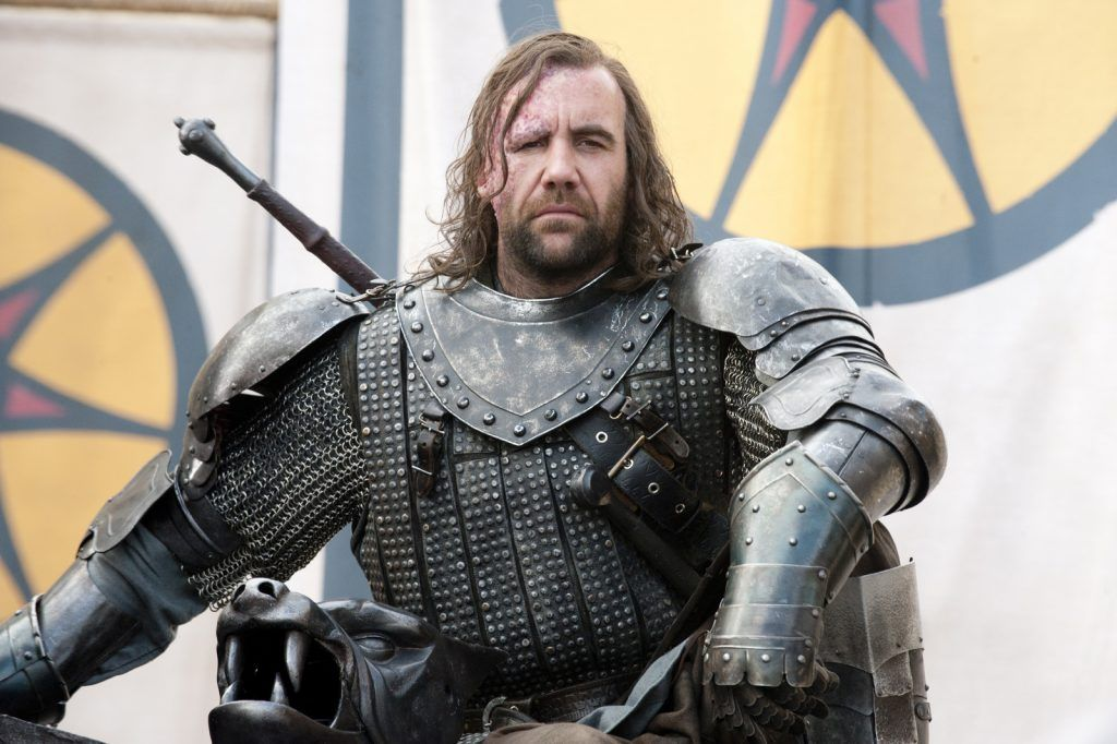Rory McCann/Sandor Clegane - Game of Thrones (Photo courtesy of HBO)