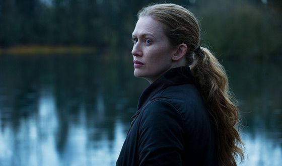 Mireille Enos/Sarah Linden - The Killing (Photo courtesy of AMC)