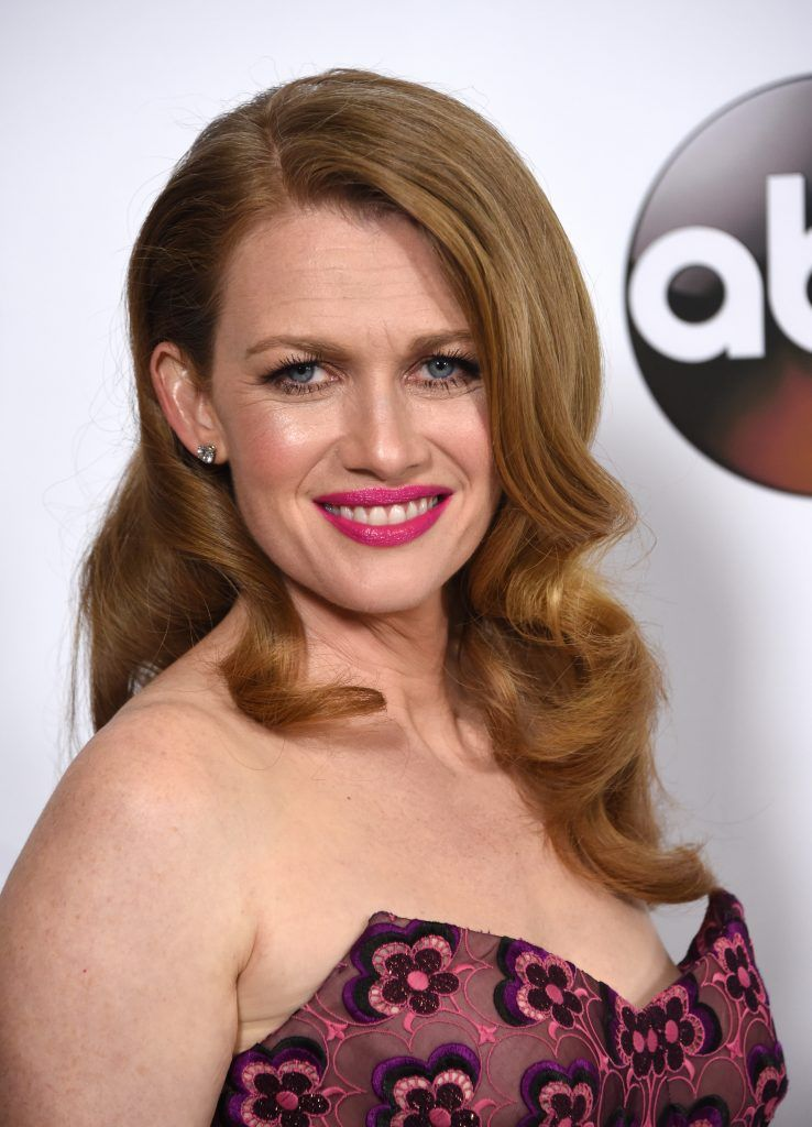 Mireille Enos/Sarah Linden - The Killing (Photo by CHRIS DELMAS/AFP/Getty Images)