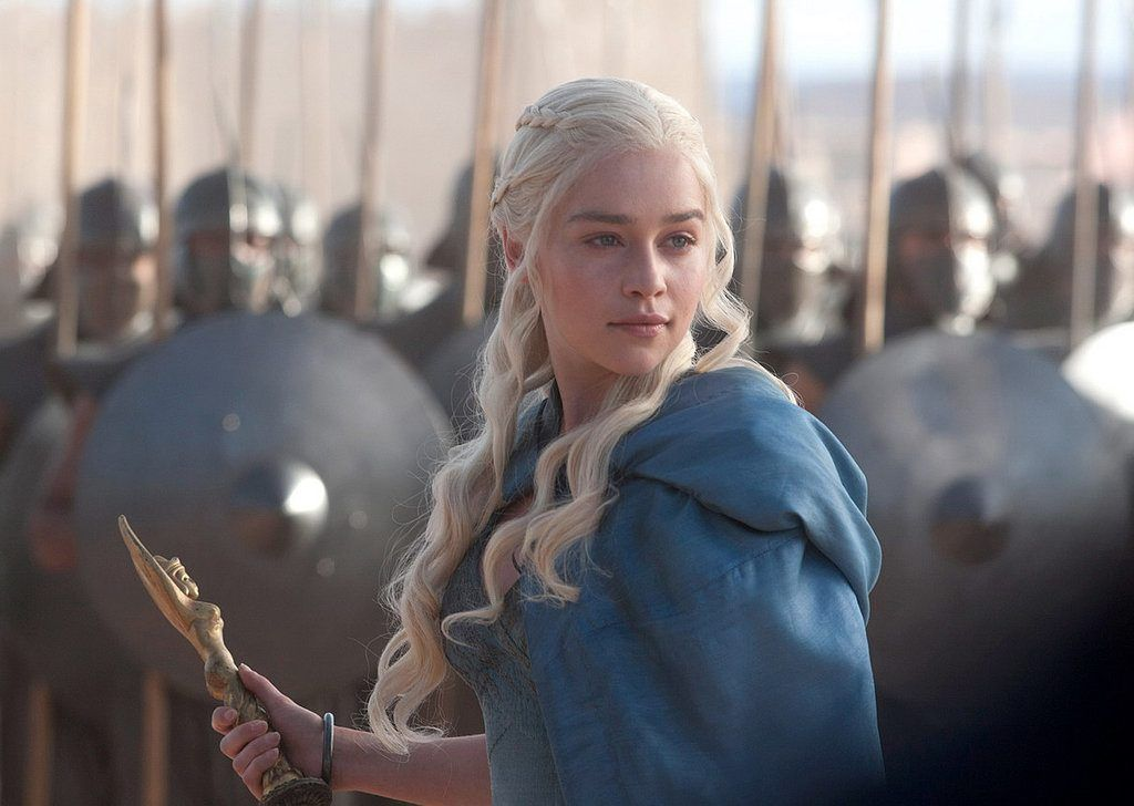 Emilia Clarke/Daenerys Targaryen - Game of Thrones (Photo courtesy of HBO)