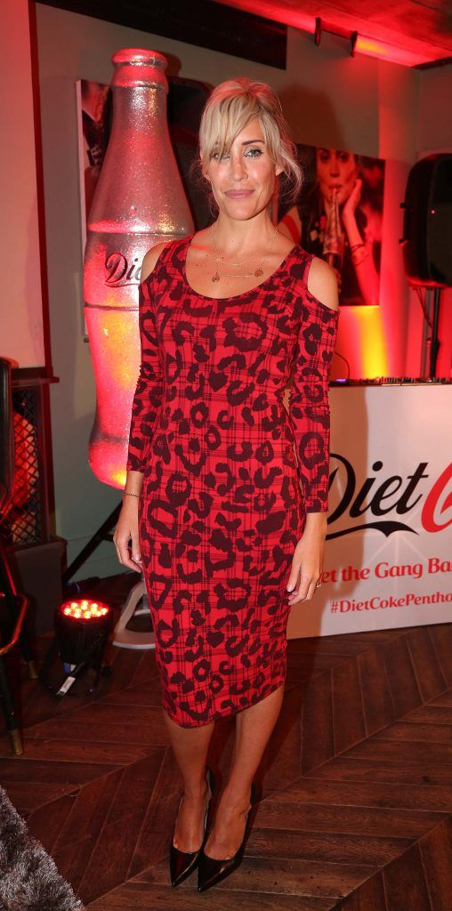 Mo Kelly, pictured at the Diet Coke 'Get the Gang Back Together' event, which took place Thursday 16th February at The Dean Hotel, Harcourt Street. Pic Robbie Reynolds
