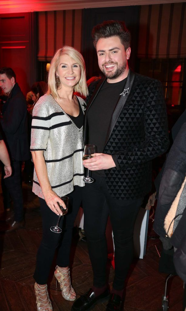 Yvonne Connolly and James Butler, pictured at the Diet Coke 'Get the Gang Back Together' event, which took place Thursday 16th February at The Dean Hotel, Harcourt Street. Pic Robbie Reynolds