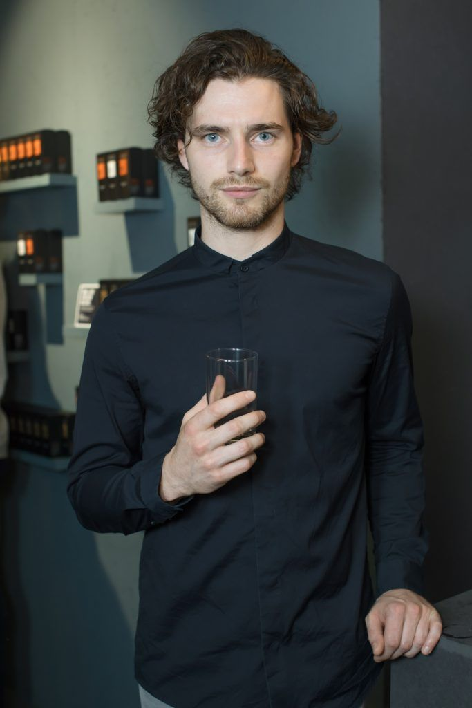 Barry Donohue pictured at the first ever Lynx pop-up shop in Ireland. Guys can drop into 60 South William Street to avail of haircuts from Lynx grooming experts - redeemable with product. Photo: Anthony Woods