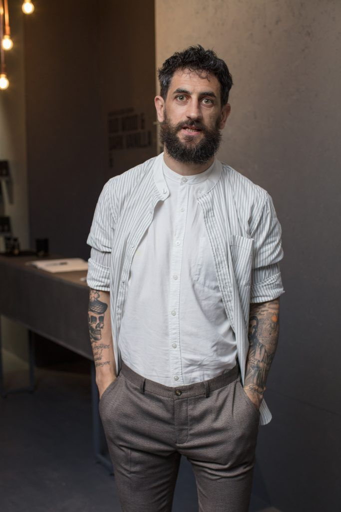 Paul Galvin pictured at the first ever Lynx pop-up shop in Ireland. Guys can drop into 60 South William Street to avail of haircuts from Lynx grooming experts - redeemable with product. Photo: Anthony Woods