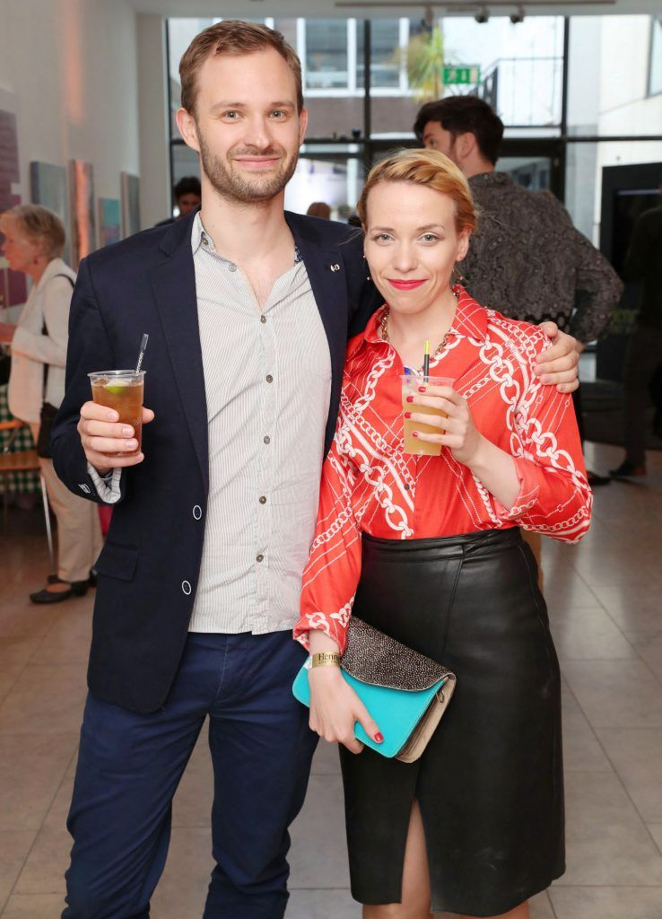 Martin and Joy Roche at the RHA Hennessy Lost Friday (7th July), a night showcasing Ireland's most cutting edge and dynamic artists, musicians, and creatives. Pic: Marc O'Sullivan
