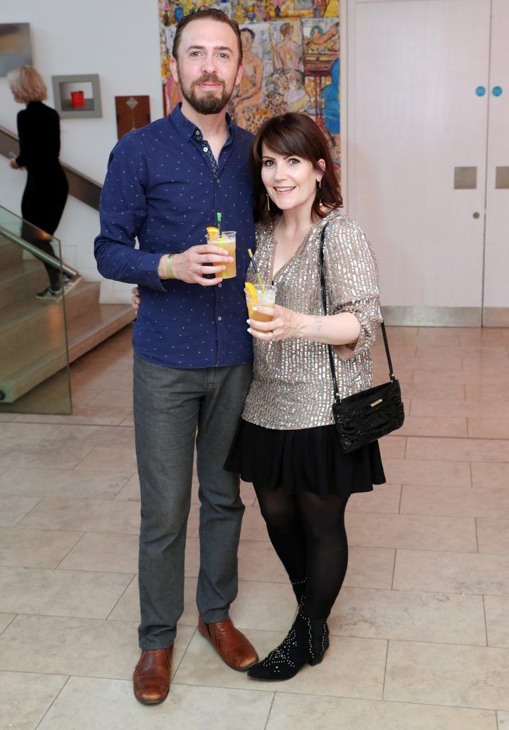 James and Aisling Wynne at the RHA Hennessy Lost Friday (7th July), a night showcasing Ireland's most cutting edge and dynamic artists, musicians, and creatives. Pic: Marc O'Sullivan