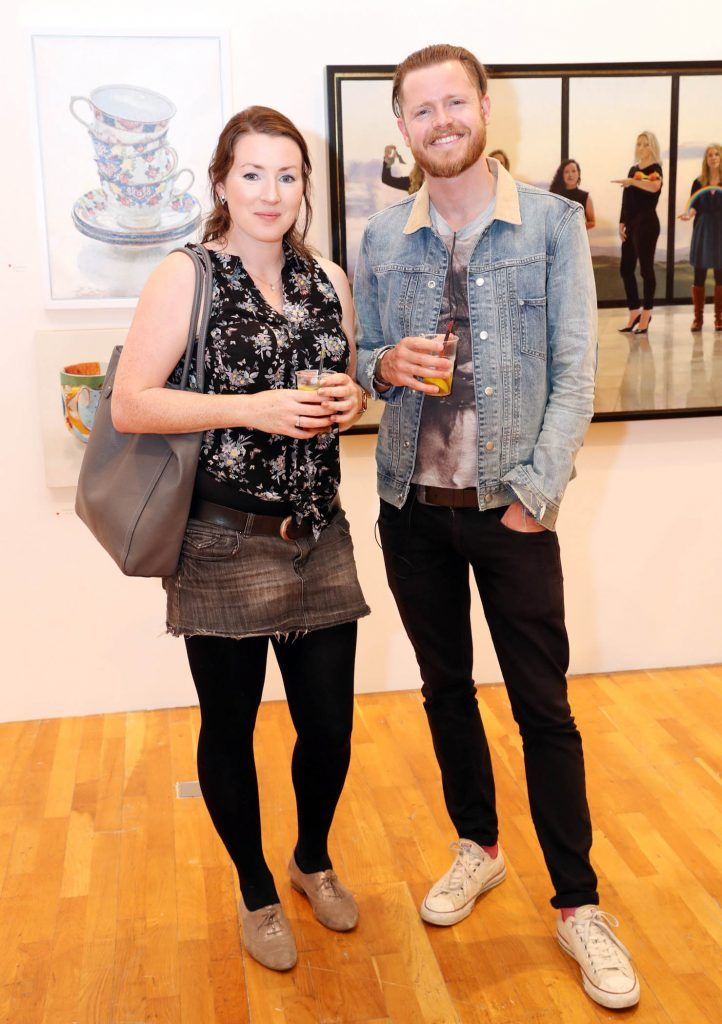 Grainne Cunniffe and Eamon Sheehy at the RHA Hennessy Lost Friday (7th July), a night showcasing Ireland's most cutting edge and dynamic artists, musicians, and creatives. Pic: Marc O'Sullivan