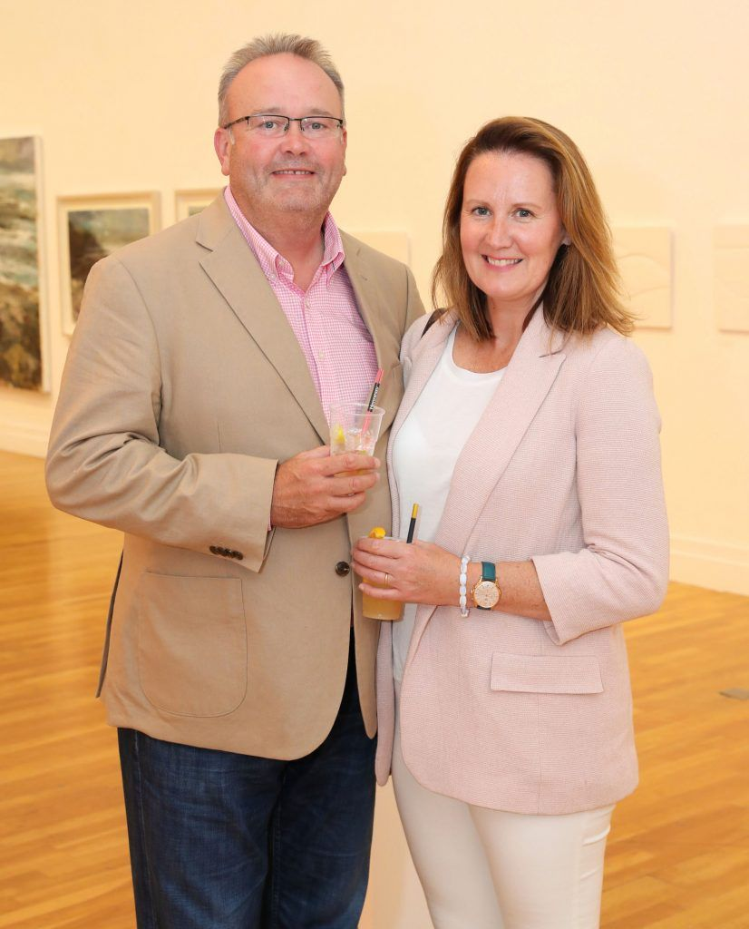 Andy and Avril O'Hara at the RHA Hennessy Lost Friday (7th July), a night showcasing Ireland's most cutting edge and dynamic artists, musicians, and creatives. Pic: Marc O'Sullivan