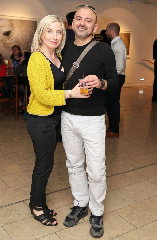 Fifi Flynn and Marco Orlando at the RHA Hennessy Lost Friday (7th July), a night showcasing Ireland's most cutting edge and dynamic artists, musicians, and creatives. Pic: Marc O'Sullivan