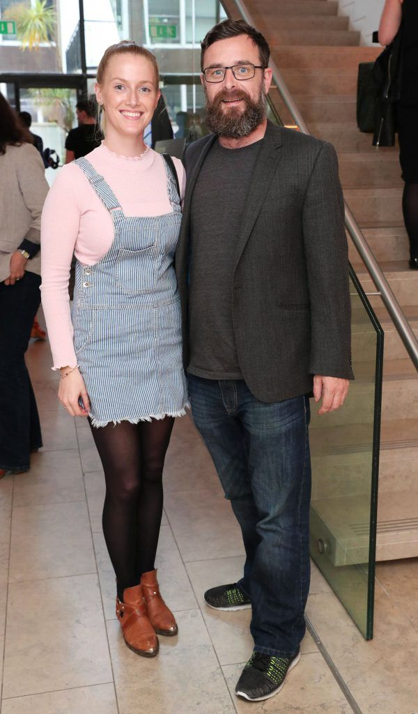 Melissa Walsh and Trevor Woods at the RHA Hennessy Lost Friday (7th July), a night showcasing Ireland's most cutting edge and dynamic artists, musicians, and creatives. Pic: Marc O'Sullivan