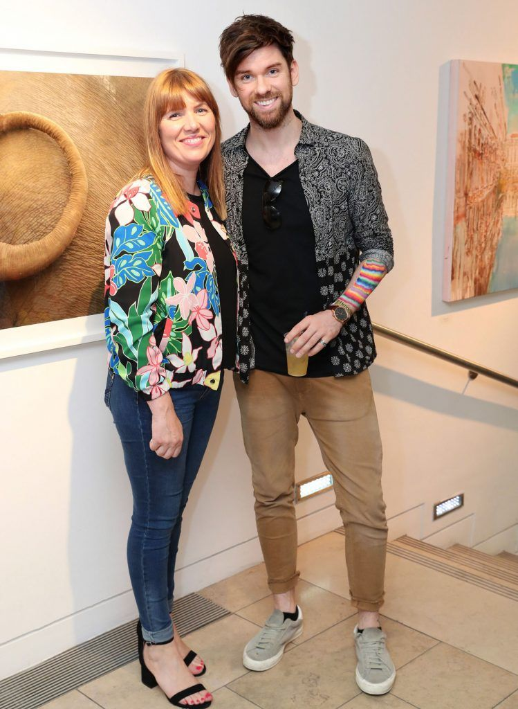 Elaine Cullen and Eoghan McDermott at the RHA Hennessy Lost Friday (7th July), a night showcasing Ireland's most cutting edge and dynamic artists, musicians, and creatives. Pic: Marc O'Sullivan