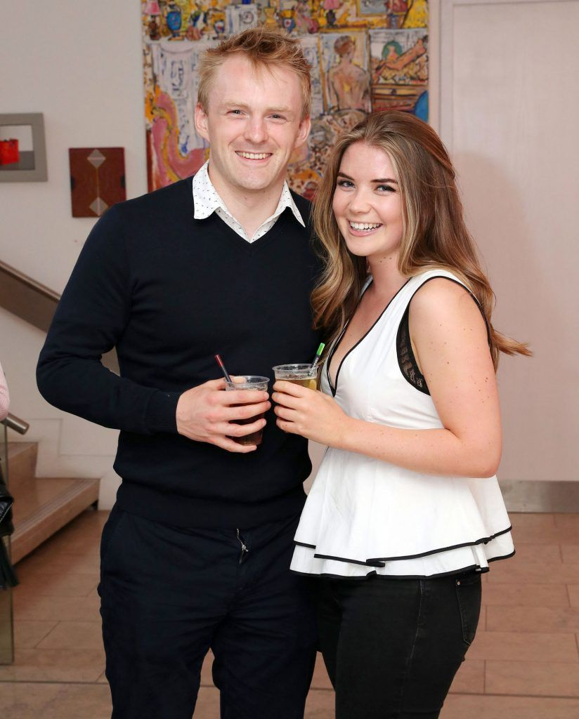 Tim O'Connell and Milly Featherstone at the RHA Hennessy Lost Friday (7th July), a night showcasing Ireland's most cutting edge and dynamic artists, musicians, and creatives. Pic: Marc O'Sullivan