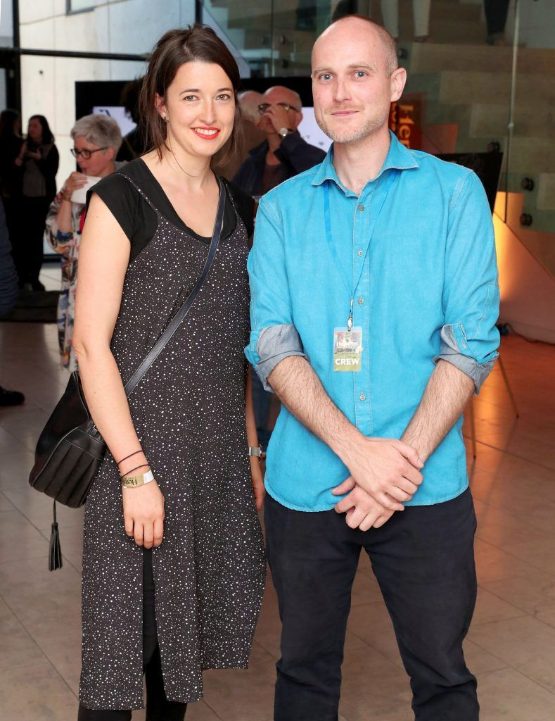 Halina McNabb and Kurt Oppermann at the RHA Hennessy Lost Friday (7th July), a night showcasing Ireland's most cutting edge and dynamic artists, musicians, and creatives. Pic: Marc O'Sullivan