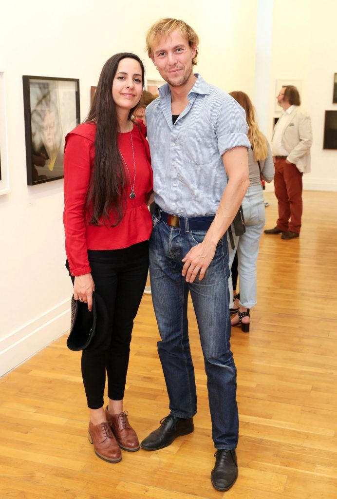 Delphine Gaillard and Thomash Kestawitz at the RHA Hennessy Lost Friday (7th July), a night showcasing Ireland's most cutting edge and dynamic artists, musicians, and creatives. Pic: Marc O'Sullivan