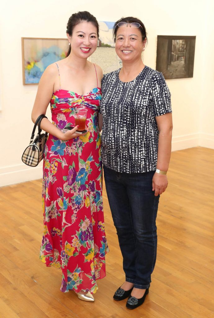 Jenny Zhan and Ruby Li at the RHA Hennessy Lost Friday (7th July), a night showcasing Ireland's most cutting edge and dynamic artists, musicians, and creatives. Pic: Marc O'Sullivan