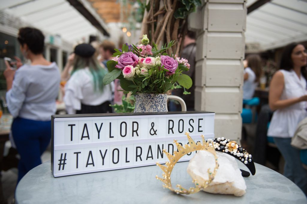 The launch of Taylor & Rose, a hair couture accessories brand by Irish bloggerand stylist Ciara O'Doherty. Photographed in House, Dublin by Ruth Medjber // Ruthless Imagery